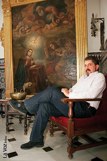 El rondeño José Ignacio Viñas pertence a la Orden del Temple.