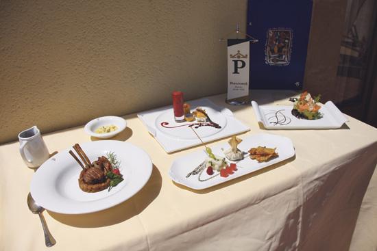 El Parador de Turismo tiene preparado un menú para la posible visita.