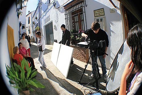 Dos equipos grabarán sus obras en la Serranía de Ronda.