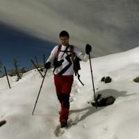 La nevada fue de importancia en Pilones.