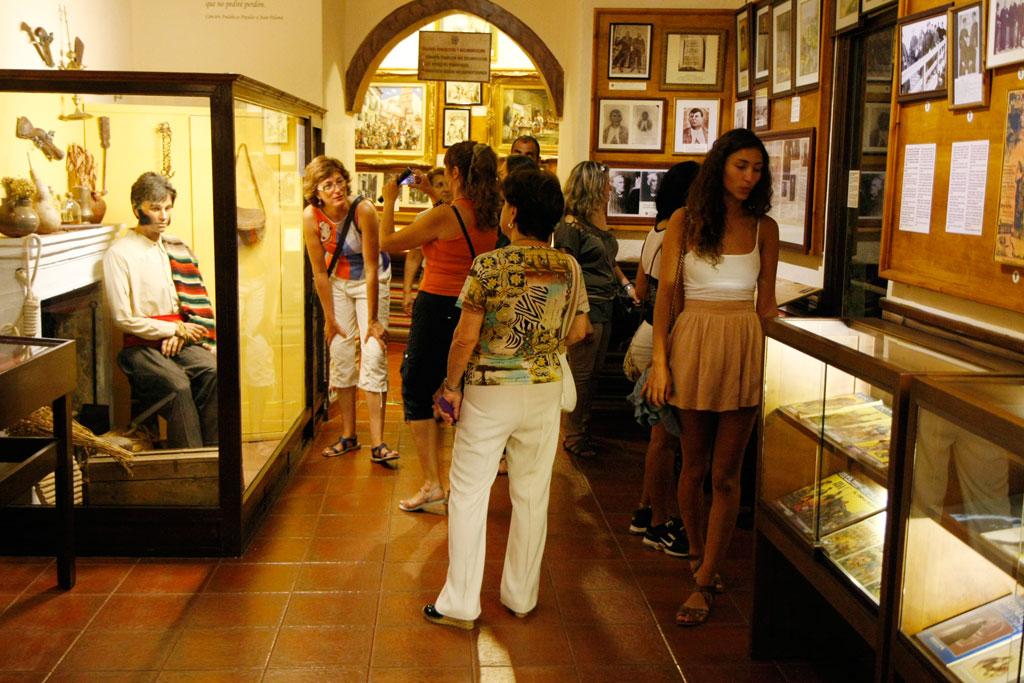 Los museos recibieron a cientos de visitantes.