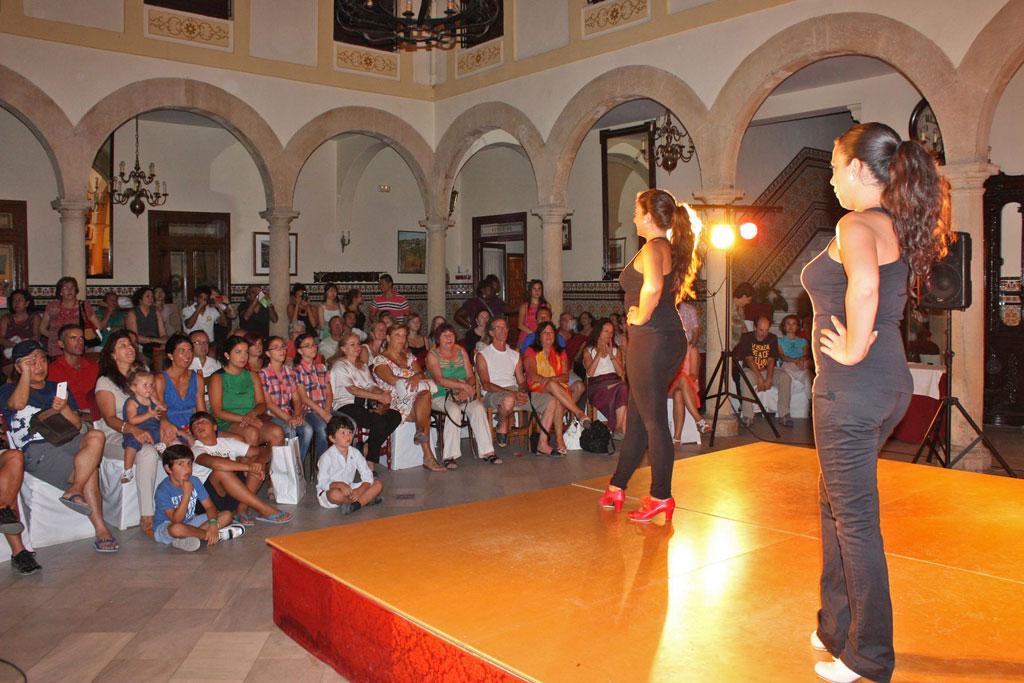 Espectáculo flamenco en el Casino.