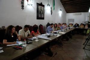 Momento del Pleno celebrado el pasado martes en el Ayuntamiento de Ronda.