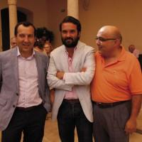 José Luis Ruiz Espejo, Jacobo Florido, y Jesús Vázquez.