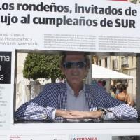 El popular rondeño Carlos Telmo.