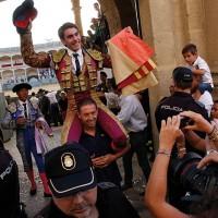 Vicente Soler salió merecidamente por la puerta de Pedro Romero.