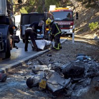 Fallecen dos personas en un accidente de tráfico