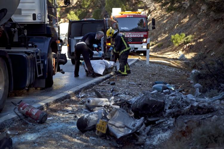 Seis de las 22 carreteras m s peligrosas de m laga est n - Direccion de trafico en malaga ...