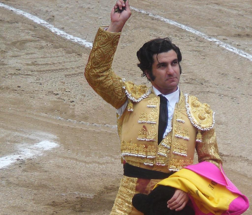 Morante será el segundo matador que se enfrentará a seis toros en la Goyesca. FUENTE: Wikipedia