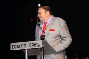 Instante de la intervención de Juan Harillo.