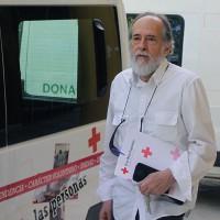 Antonio Lasanta, presidente de Cruz Roja: «Creo que podremos mantener la ayuda que venimos prestando hasta ahora»