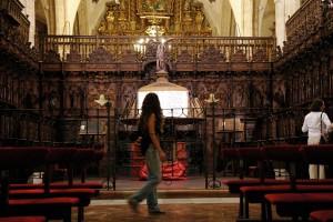 Santa María la Mayor permaneció abierta.