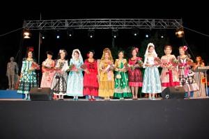 Foto de grupo de las damas goyescas.