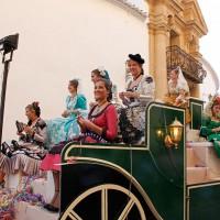 La cabalgata da inicio a la Feria de Pedro Romero