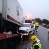 Dados de alta los dos heridos en un aparatoso accidente de tráfico
