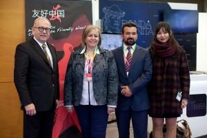 Encuentro con los responsables de la empresa Chinese Friendly Internacional