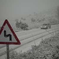 Las carreteras permanecen abiertas, aunque debe extremarse la precaución