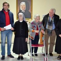 Las Hermanitas de los Pobres reciben un donativo de 1.000 euros recaudados por los Reyes Magos