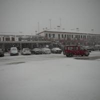 La nieve hace acto de presencia en Ronda