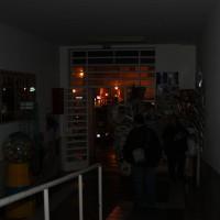Cortan el suministro eléctrico en la estación de autobuses