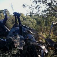 Dos muertos al estrellarse un helicóptero cargado de droga