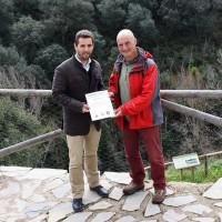 Entregan el Certificado de Entidad Verde del Mes a la Fundación Antonio Márquez Domínguez