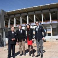 El Ayuntamiento y la Diputación anuncian la terminación de las obras de la Biblioteca Comarcal para mayo