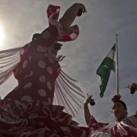 Cientos de personas celebraron el Día de Andalucía