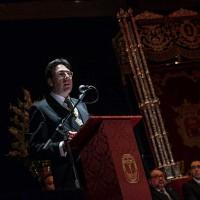 El pregón de Jorge García anuncia la llegada de la Semana Santa