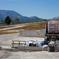 El acondicionamiento de los huertos urbanos de la Cruz de San Jorge entra en su recta final