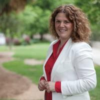 Teresa Valdenebro: «El PSOE ganará y yo seré la alcaldesa los próximos cuatro años»