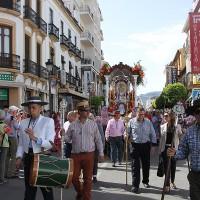 La Hermandad del Rocío inicia su peregrinar a la aldea de Almonte