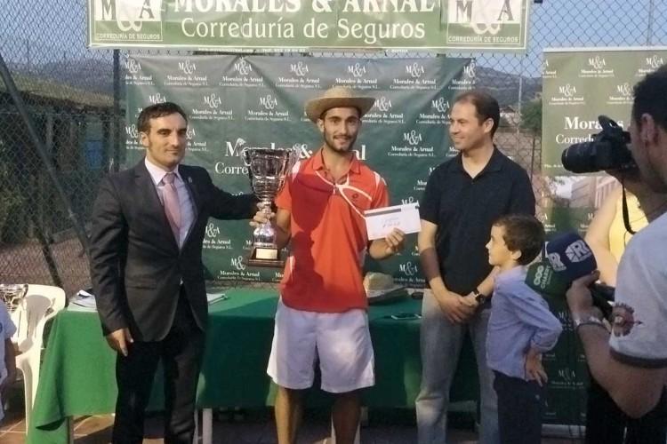 David del Río, campeón absoluto de la X edición del Torneo Morales & Arnal