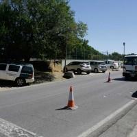 Un atropello junto al Hospital causa la muerte de una mujer de 70 años