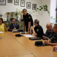 Una media diaria de 50 policías locales velarán por la seguridad en la Feria