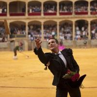 José María Manzanares, en una de sus actuaciones en el coso rondeño.