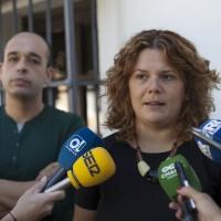 Valdenebro y Orozco mantienen en su perfil de Twitter que siguen siendo secretaria y vicesecretario del PSOE, puestos que perdieron hace siete meses y medio