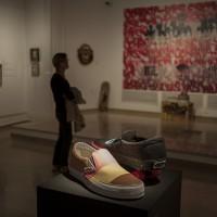 Muestra de algunas de las obras expuestas en el museo Peinado.