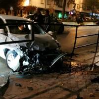 Dos accidentes de coche se produjeron anoche
