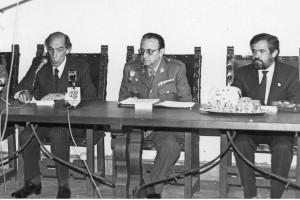Julián de Zulueta en un intervención siendo alcalde de Ronda.