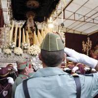 La presencia de la Legión en la procesión del Ecce-Homo está en el aire