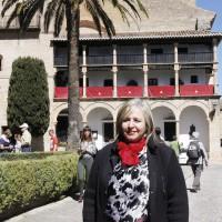Isabel Barriga: «Tenemos que recuperar la Pasarela del Tajo»