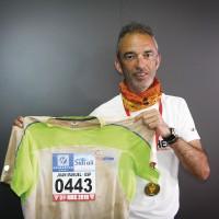 Juanma Cortés: «Llegó un momento que ya no sudaba, no me quedaba líquido en el cuerpo»
