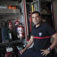 Álvaro Bautista: «Allí los bomberos son voluntarios y hacen lo que pueden»