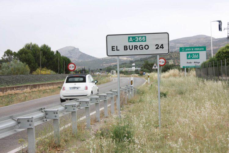 Fallece un hombre de 37 años tras colisionar una motocicleta y un todoterreno en El Burgo