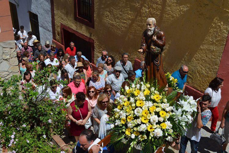 Alpandeire celebró por todo lo alto el 152 aniversario del nacimiento de Fray Leopoldo