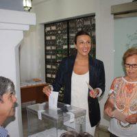 La candidata número 5 del PP, Maripaz Fernández.