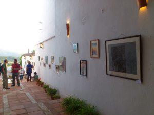 Exposición de Paco Marín en la Palacio de Mondragón