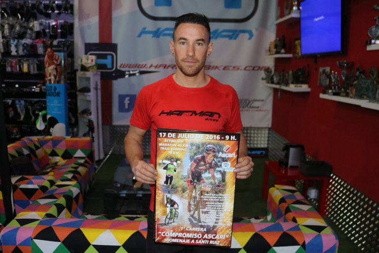 Presentada la carrera homenaje a Santi Ruiz