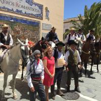 Caballistas de la Ruta de los Viajeros Románticos del Camino Inglés hacen escala en Ronda